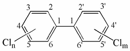 Молекула ПХБ